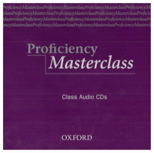 Masterclass Series: Proficiency Masterclass Class Audio CD (2)