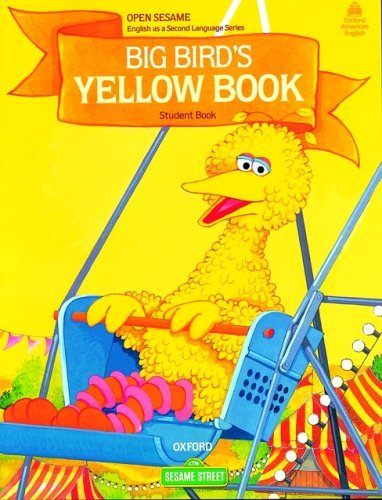 Open Sesame Big Bird's Yellow Book