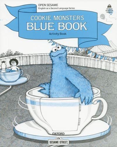 Open Sesame Cookie Monster's Blue Book