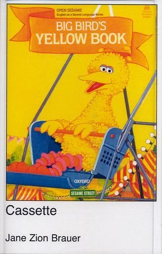 Open Sesame Big Bird's Yellow Book