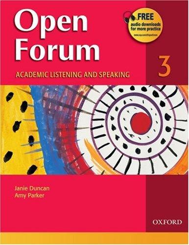 Open Forum 3