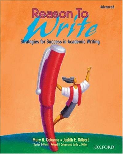 Reason to Write