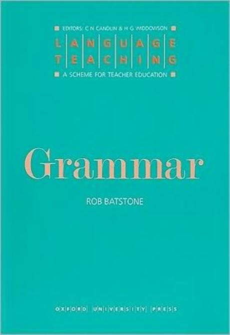 Language Teaching:A Scheme for Teacher Education/Grammar