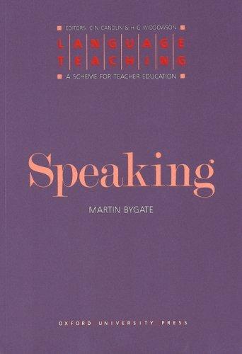 Language Teaching : A Scheme for Teacher Education
