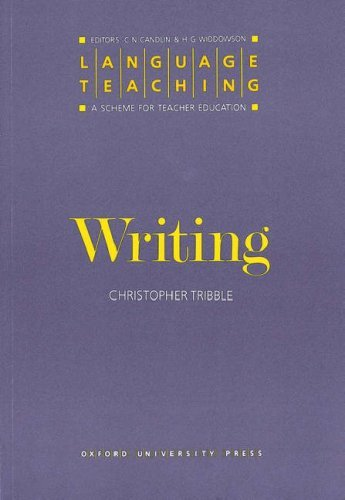 Writing (Language Teaching: A Scheme for Teacher Education)
