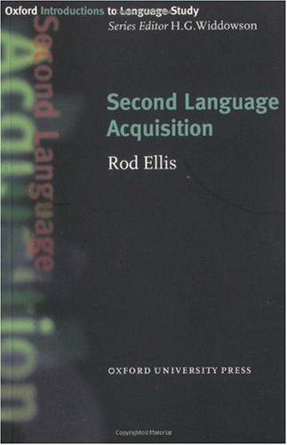 Oxford Introductions to Language Study:Second language Acquisition