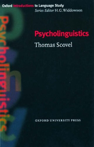 Oxford Introductions to Language Study:Psycholinguistics