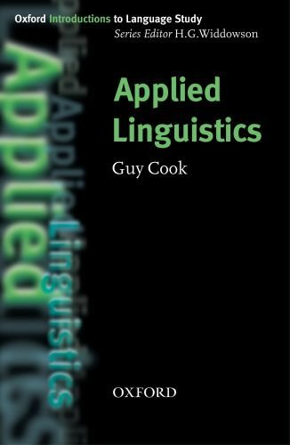 Oxford Introductions to Language Study:Applied Linguistics