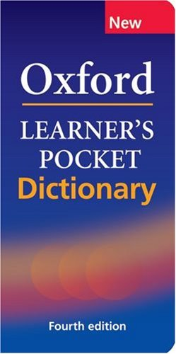 Oxford Learner's Pocket Dictionary : Fourth Edition