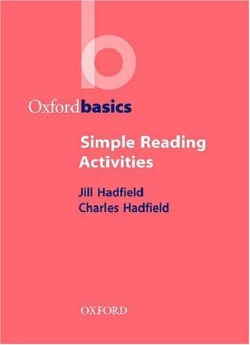 Oxford Basics:Simple Reading Activities