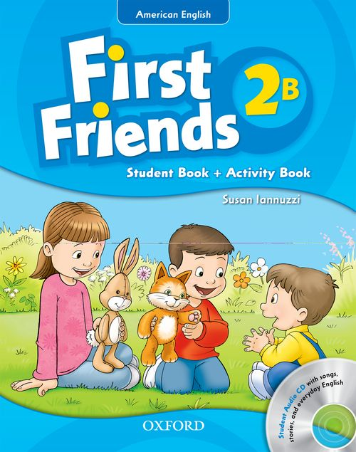 First Friends: American Edition Student Book/Workbook B with Audio CD Pack  (Level 2)
