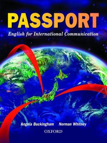 Passport (First Edition)