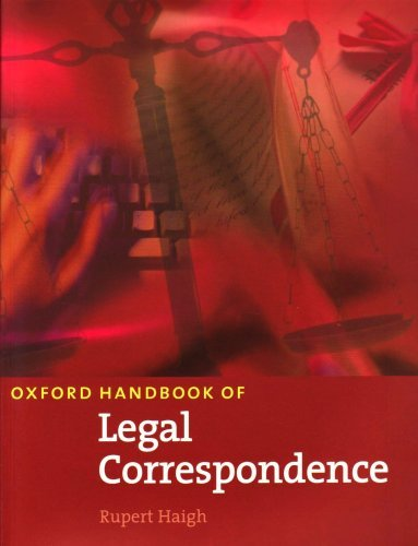 Oxford Handbook of Legal Correspondence