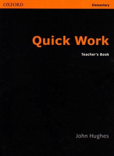 Quick Work Elementary