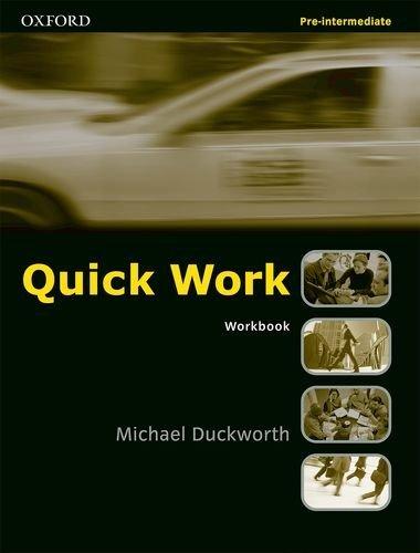 Quick Work Pre-Intermediate