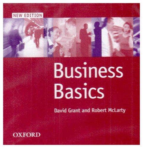 Business Basics: New Edition
