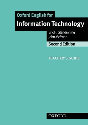 Oxford English for Information Technology : New Edition