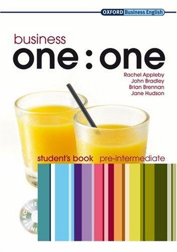 Business One:One Pre-Intermediate