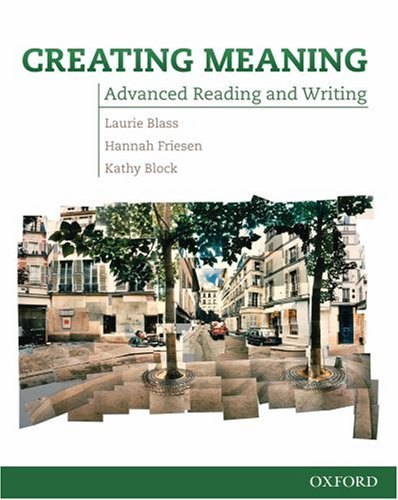 Creating Meaning - Advanced Reading and Writing