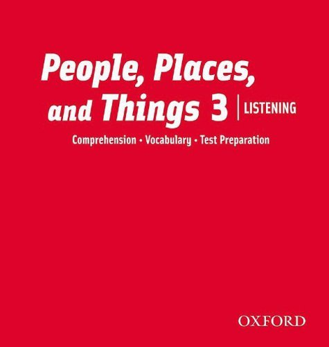 People, Places, and Things Listening 3