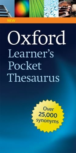Oxford Learner's Pocket Thesaurus