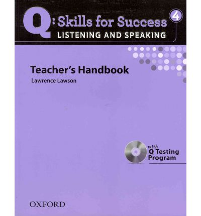 Q : Skills for Success - Listening and Speaking