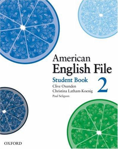 american english file second edition pdf