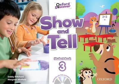 Oxford show and tell class book and multi rom pack level 2 by