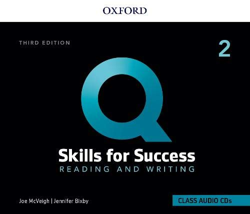 Q: Skills for Success: 3rd Edition - Reading and Writing