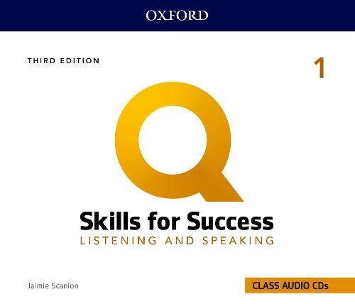 Q: Skills for Success: 3rd Edition - Listening and Speaking