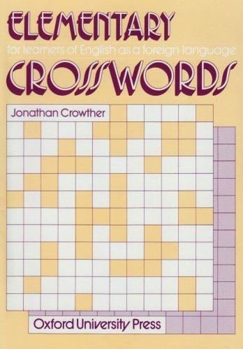 Crosswords Elementary