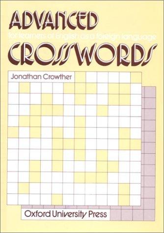 Crosswords Advanced