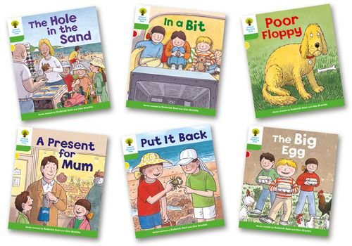 Oxford Reading Tree Packs: Main Stories, More Stories (without CDs)