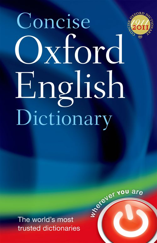 Concise Oxford Dictionary