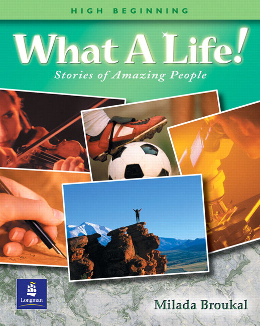 What a life student book upper beginner by milada broukal on what a life high beginning fandeluxe Image collections