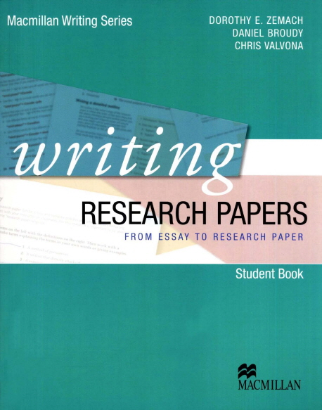 writing research papers books Publishing your research in an international journal is key to your success in  academia  about this book about the authors reviews  phd students, and  over 1000 hours of teaching researchers how to write and present research  papers.