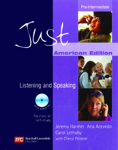 Just Listening and Speaking - American Edition
