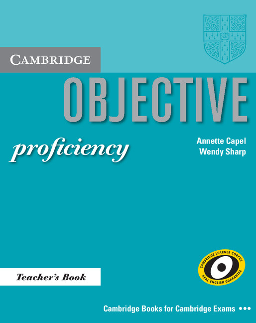 Objective proficiency students book - capel, a  sharp, w