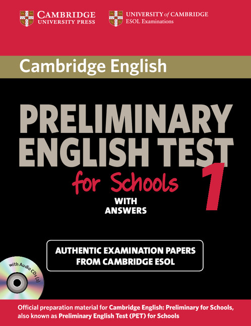 Cambridge Preliminary English Tests Student's Book with Answers (Level 1  (for Schools))