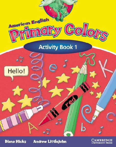 american english primary colors - Primary Colors Book