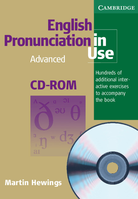 English Pronunciation In Use Cd Rom For Windows And Mac Single User Advanced By Martin Hewings On Eltbooks 20 Off