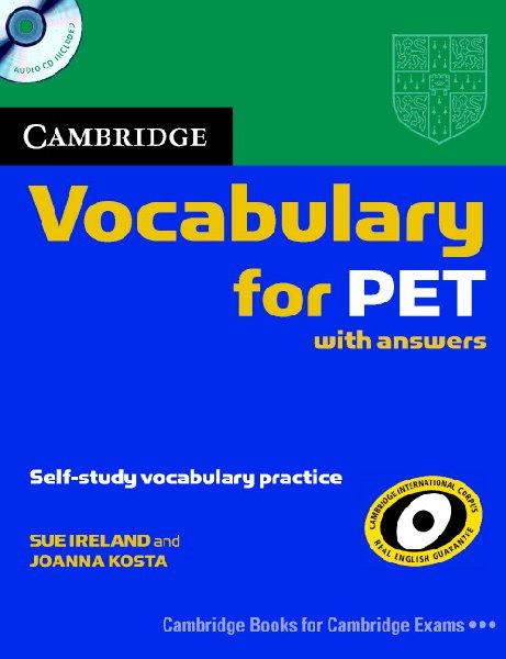 Cambridge Vocabulary for PET