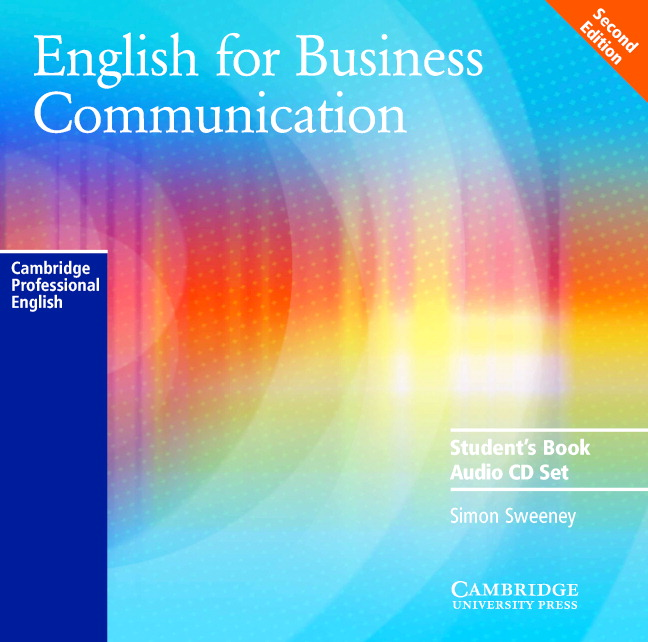 Business Communication Book Cover : English for business communication audio cd set