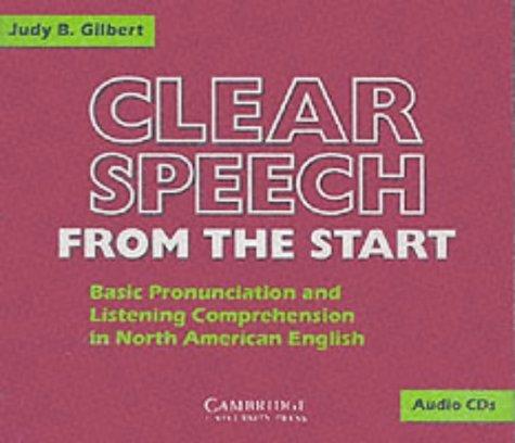 Clear Speech from the Start Class Audio CDs