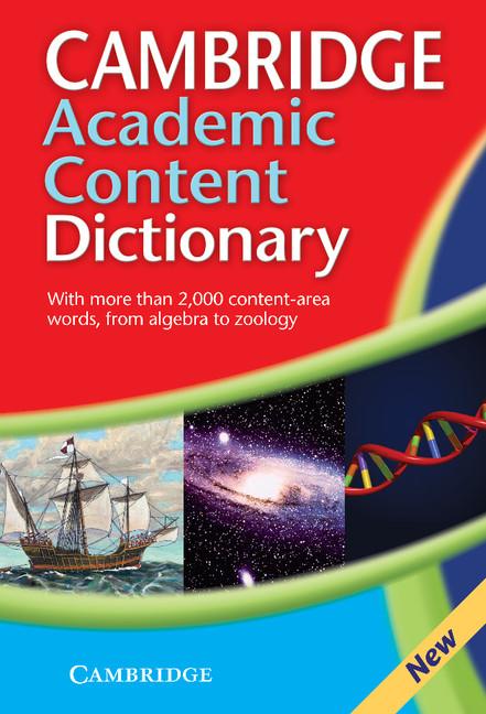 Cambridge Dictionaries