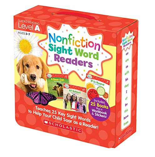 Box Set Parent Pack (Level A) <br /><i>Nonfiction Sight Word Readers</i>