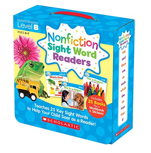 Box Set Parent Pack (Level B) <br /><i>Nonfiction Sight Word Readers</i>