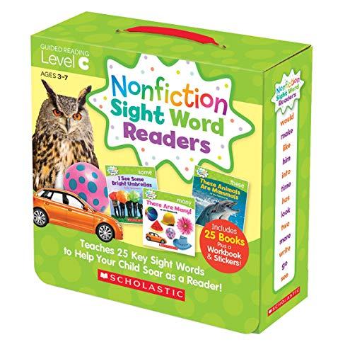 Box Set Parent Pack (Level C) <br /><i>Nonfiction Sight Word Readers</i>