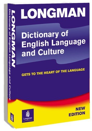 Longman Dictionary of English Language and Culture 3rd Edition