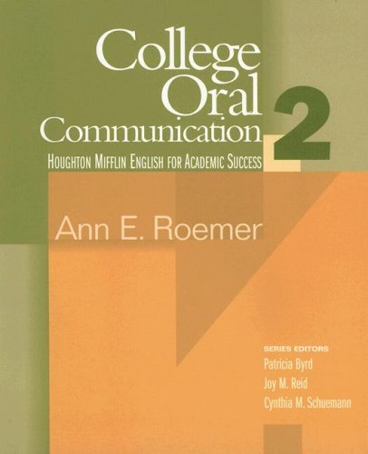College Oral Communication